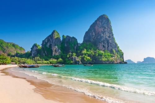 楽園のよう海