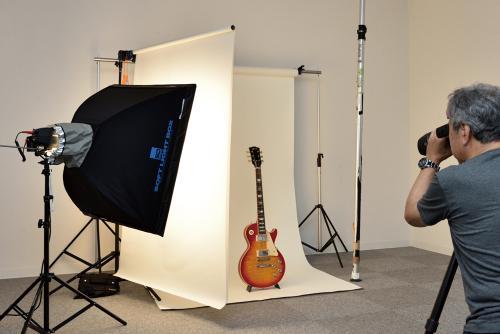 最高峰エレキ・ギター『59年製ギブソン・レス・ポール』が撮れる! 山下達郎、サザンらを撮影してきたフォトグラファー直伝のギター撮影会が開催