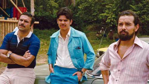 トム・クルーズ演じるバリーを脅かした麻薬王を熱演!  本場コロンビアの俳優マウリシオ・メヒアとは