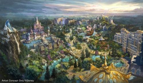 「東京ディズニーシー」が2020年開業目標の大規模拡張プロジェクトを発表! 『アナと雪の女王』『塔の上のラプンツェル』『ピーター・パン』の新エリア