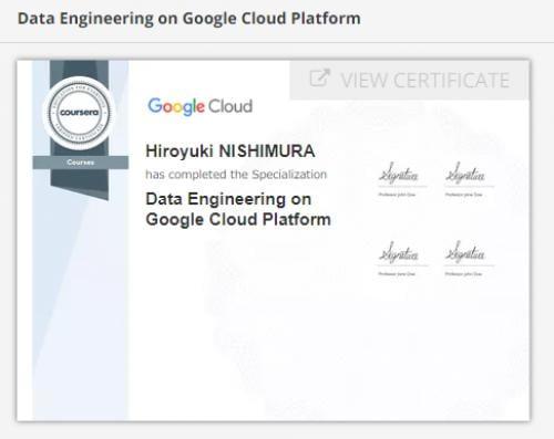 Googleの機械学習のレッスンが無料で受けれて資格が貰える余暇。