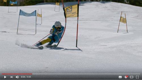 動画:オリンピックメダリストのスキーヤーがドローンと大回転で対決! 勝つのはどっち?