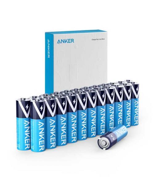Ankerから最大10年保存可能なアルカリ乾電池が登場 初回セールは15%OFFで販売