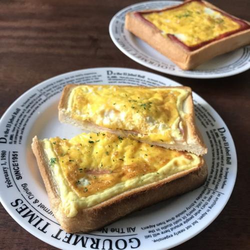 フライパン不要の朝食レシピ「オムレツトースト」が話題に「最高っすねこれ」