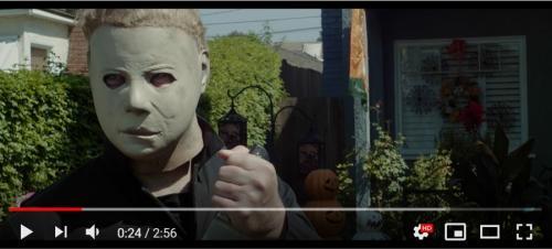 ハロウィンが中止になった2020年のブギーマン(マイケル・マイヤーズ)「この動画はバズらないとおかしい」「 ハッピーエンディング!?」