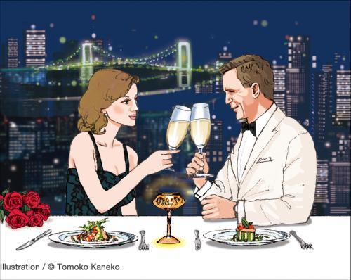 気分はまるでジェームズ・ボンド!ザ・プリンス パークタワー東京のこだわりディナーやカクテルで堪能できる英国スパイの世界