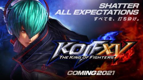 新作対戦格闘ゲーム『THE KING OF FIGHTERS XV』が2021年に発売決定! 公式トレーラー公開中