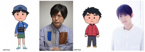 『ちびまる子ちゃん』3月スペシャル月間に神谷浩史・梶裕貴が出演!アドリブでアナウンサー役も「音響監督に泣きついて……」