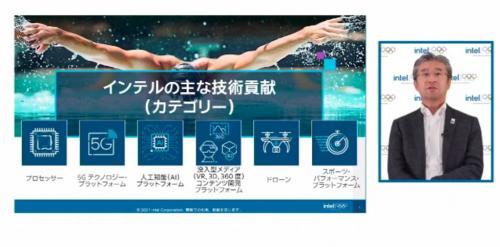 競技映像への3Dトラッキングデータ表示や没入観戦体験を実現 インテルが東京五輪に提供する最新技術を解説
