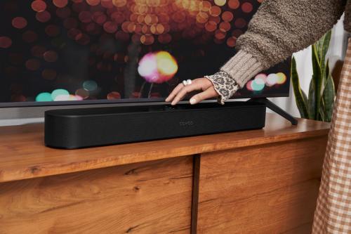 SonosがDolby AtmosやAmazon MusicのUltra HDに対応するコンパクトなサウンドバー「Sonos Beam(Gen 2)」を年内発売へ