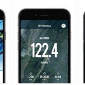 804060800d Snoway : スマートフォンのGPSや加速度センサーでスキーやスノボの滑走ロ.