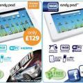 英国で「Andy Pad」、「Andy Pad Pro」の販売が開始