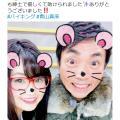 袴田吉彦さんと「アパ不倫」のグラドル青山真麻さん フジ『バイキング』に出演も『Twitter』炎上