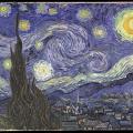 ゴッホの『星月夜』×ジブリや任天堂キャラの絶妙なミスマッチ ニューヨーク在住の女性画家による話題の絵画