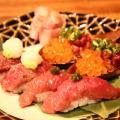 肉寿司が20種類!「肉バルで肉寿司 ジョッキー」で馬肉を堪能すべし【大阪】