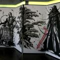 『スター・ウォーズ/最後のジェダイ』武人画屏風が超クール! 京都で10月1日まで見れるよ