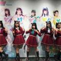 アイドルグループ「わーすた」が原宿にてコラボカフェ開催! プレオープンは超満員!
