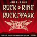 BABYMETAL、ドイツにて開催のロックフェス『Rock am Ring 2018 / Rock im Park 2018』に出演決定!