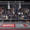 アイアンマンやスパイダーマン俳優らが超豪華アッセンブル! MCU10周年のお祝いが壮観すぎる