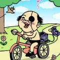自転車に乗ってケータイを使用すると道路交通法違反で反則切符