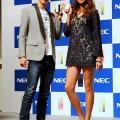 玉木宏&RINAがNECの新作携帯を紹介してくれたよ!