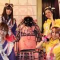 【アキバックス】アキバの戦国メイドカフェと声優バーがコラボレーション! 衣装入れ替え?