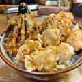 中トロを天婦羅にした『まぐろ天丼』を食す! @横浜『豊野丼』
