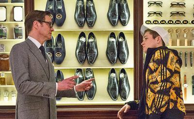 """【独占映像】『キングスマン』の""""スパイガジェット""""がカッコ良すぎる! マシュー監督の美術へのこだわり"""