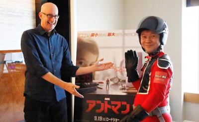 『アントマン』監督ペイトン・リードと主演ポール・ラッドインタビュー 「そのスーツ最高にイカしてるね! ちょっと写真撮らせて」