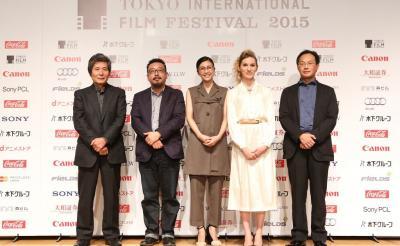 第28回東京国際映画祭のラインアップ発表会に竹内結子らが出席