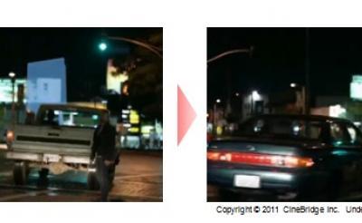 シネブリッジが撮影後の映像に広告を挿入できる『デジタル・プレイスメント』を開始