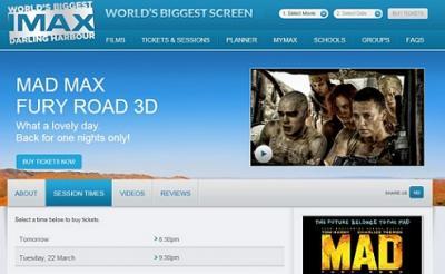まさにヴァルハラ! 世界最大のIMAXシアターで『マッドマックス 怒りのデス・ロード』がリバイバルされるぞ!