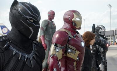 アイアンマンvs.バッキーにブラックパンサー! 『シビル・ウォー』場面写真が続々解禁