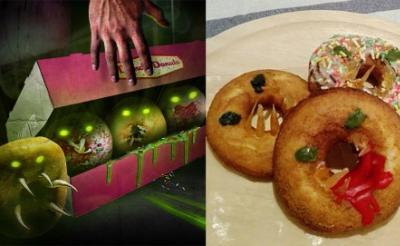 """【かわいい】『アタック・オブ・ザ・キラー・ドーナツ』の""""人喰いドーナツ""""をオバケン制作でガチ再現 入手方法を教えるぜ![ホラー通信]"""