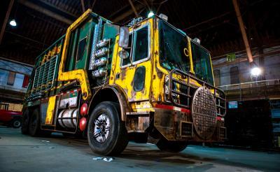 タートルズ専用バトルトラックの機能を大公開 最新作でもドナテロさんの才気が爆発!