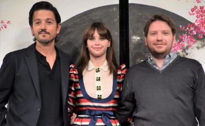 『ローグ・ワン』の監督・キャストが来日 「オープニングはクロサワ映画を彷彿とさせる」