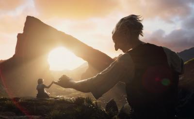 """映画『BFG』ユニークな""""巨人""""はこうして作られた! スピルバーグも登場のメイキング映像を特別公開"""