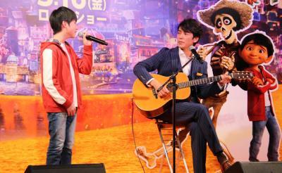 動画:新しいディズニーの名曲を生披露!『リメンバー・ミー』来日記者会見