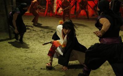 映画『曇天に笑う』囚人役でエキストラ参加してみた! 極寒の中で殺陣する福士蒼汰が神々しい……!