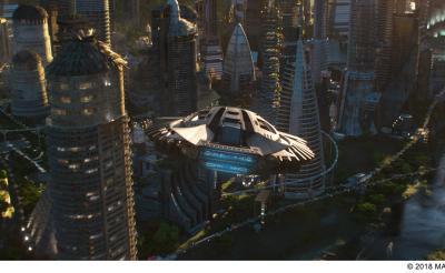 『ブラックパンサー』ハイテク航空機・遠隔操作ブレスレット……ワカンダの驚くべきテクノロジー! ボーナス映像独占
