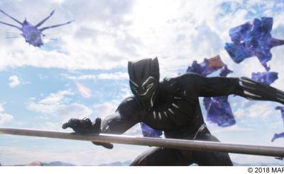 『ブラックパンサー 4K Ultra HD』を観てみたら「スーツの黒の際立ち」「ワカンダの色鮮やかさ」がスゴかった!
