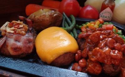 ほとばしる肉汁が君を漢にする! デ・ニーロ、ステイサムをイメージしたスペシャルハンバーグ