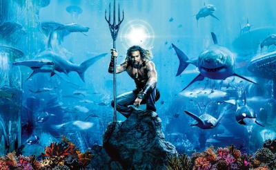 『ワイスピ』監督と『マッドマックス』スタントチームが海中アクションを描くとこうなる! 『アクアマン』最新映像が到着