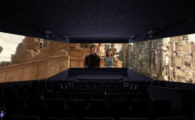 """視界270度で """"モーターボール""""のスリルを味わえっ! 『アリータ:バトル・エンジェル』ScreenX上映を観てきた"""