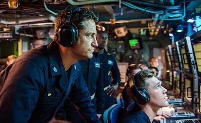 """絶望的な閉塞感・手に汗握る軍事スリラー…外れ無しの""""潜水艦モノ""""に新たな名作が誕生『ハンターキラー 潜航せよ』"""