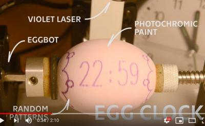 卵時計ってなんだ? 映画の予告編のような動画で見てみよう