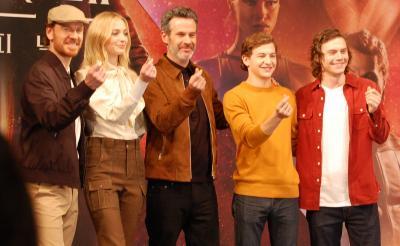 『X-MEN:ダーク・フェニックス』キャスト陣&監督が韓国イベントに登場! 「サーガ最終作への想い」「ジーンの役作り」明かす
