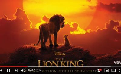 7月19日の全米公開を前にディズニーが実写版映画『ライオン・キング』のサントラを公開