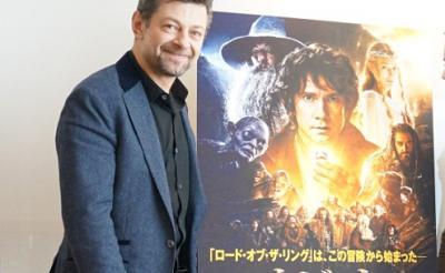 映画『ホビット』でゴラムを演じるアンディ・サーキス「現代はファンタジー作品のルネッサンス期」