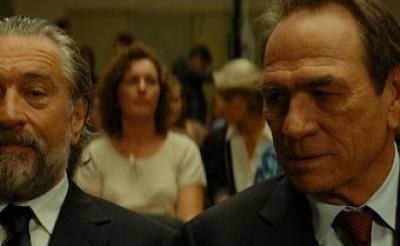 名優トミー・リー・ジョーンズがデ・ニーロとの初共演の喜びを語る!